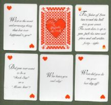 Card game The Date Deck dating game